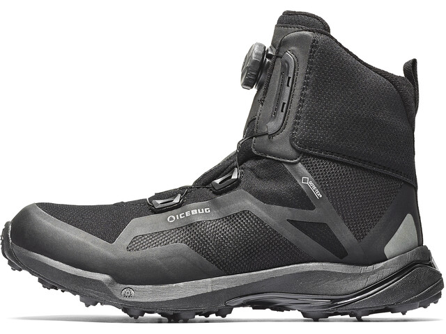 Icebug Walkabout BUGrip GTX Shoes Herre black